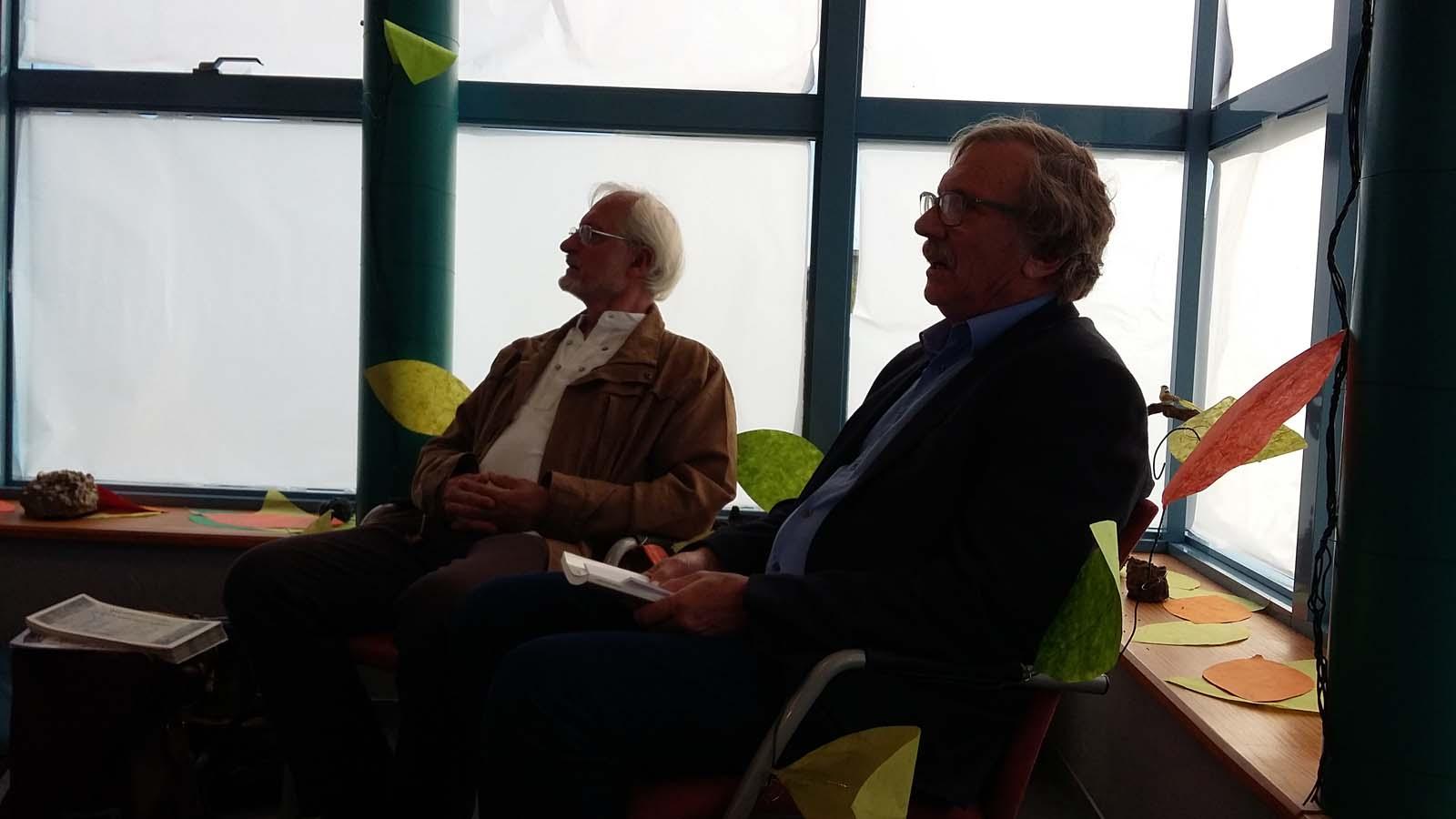 rencontre Henry Mouysset et Herve Grimal
